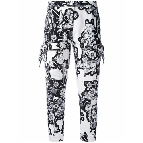 Imagen principal de producto de Carven pantalones con motivo - Blanco - Carven