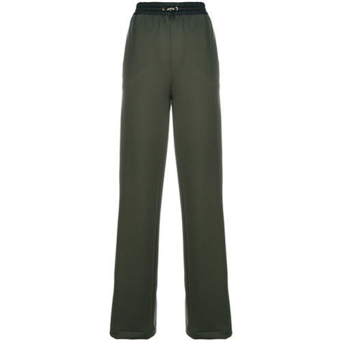Imagen principal de producto de Versace pantalones joggers de corte recto - Verde - Versace