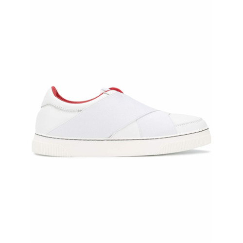 Imagen principal de producto de Proenza Schouler Cross Front Sneaker - Blanco - Proenza Schouler