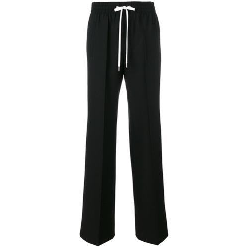 Imagen principal de producto de Miu Miu pantalones con diseño acampanado - Negro - Miu Miu