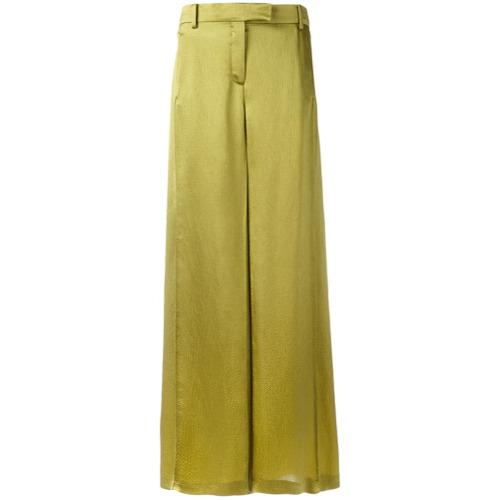 Imagen principal de producto de Valentino pantalones acampanados - Verde - Valentino