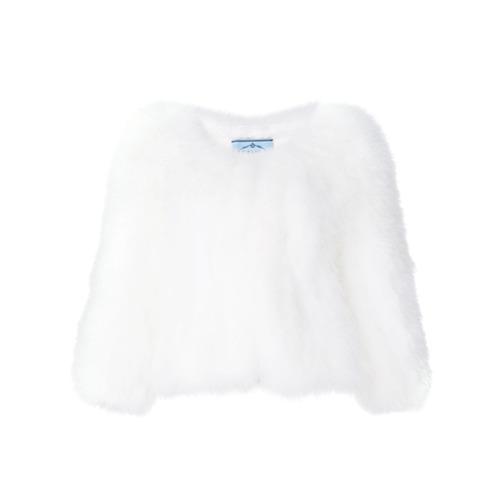 Imagen principal de producto de Prada chaqueta corta - Blanco - Prada