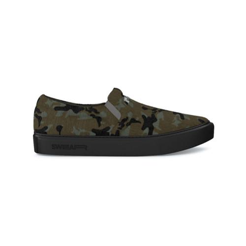 Imagen principal de producto de Swear zapatillas estilo slip-on Maddox - Verde - Swear