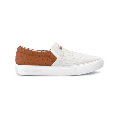 Imagen principal de producto de Swear zapatillas estilo slip-on Maddox - Blanco - Swear