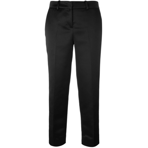 Imagen principal de producto de Love Moschino pantalones tapered de pinzas - Negro - Moschino