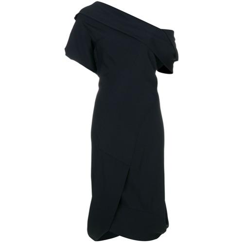 Imagen principal de producto de Vivienne Westwood vestido con hombro descubierto - Negro - Vivienne Westwood