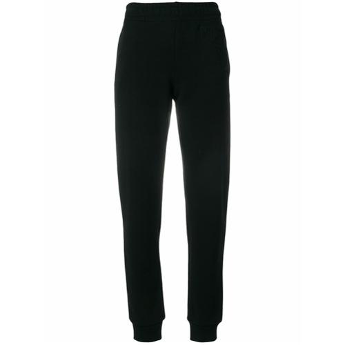 Imagen principal de producto de Moschino pantalones de chándal de corte tapered - Negro - Moschino
