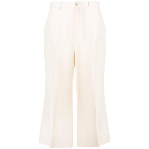 Imagen principal de producto de Gucci high-waist trousers - Blanco - Gucci