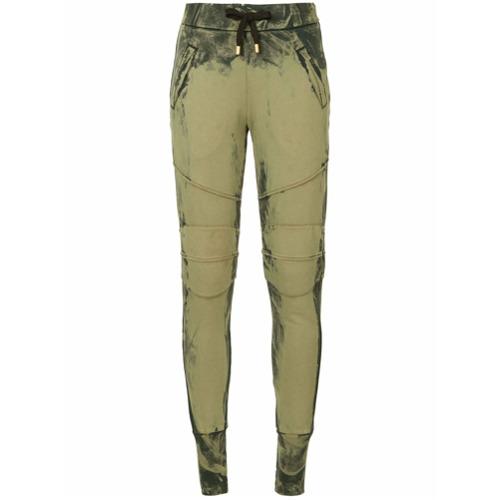 Imagen principal de producto de Pierre Balmain tapered track pants - Verde - Pierre Balmain