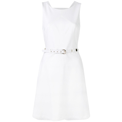 Imagen principal de producto de Versace Jeans vestido sin mangas - Blanco - Versace
