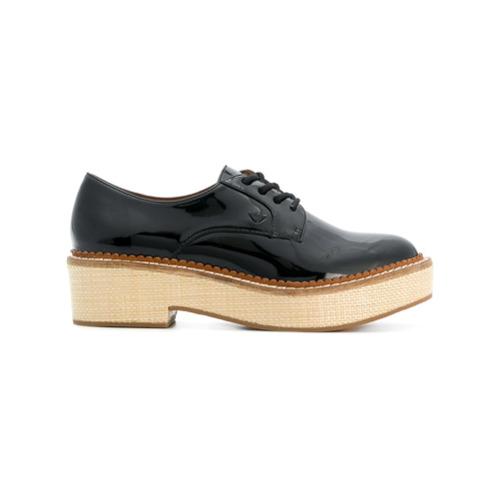 Imagen principal de producto de Emporio Armani zapatos con suela ancha - Negro - Emporio Armani
