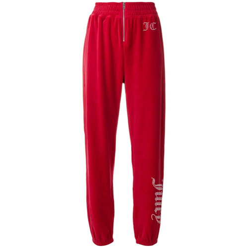 Imagen principal de producto de Juicy Couture customisable velour track trousers - Rojo - Juicy Couture