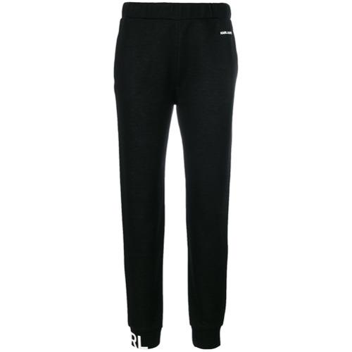 Imagen principal de producto de Karl Lagerfeld pantalones Karl's Essential - Negro - KARL LAGERFELD
