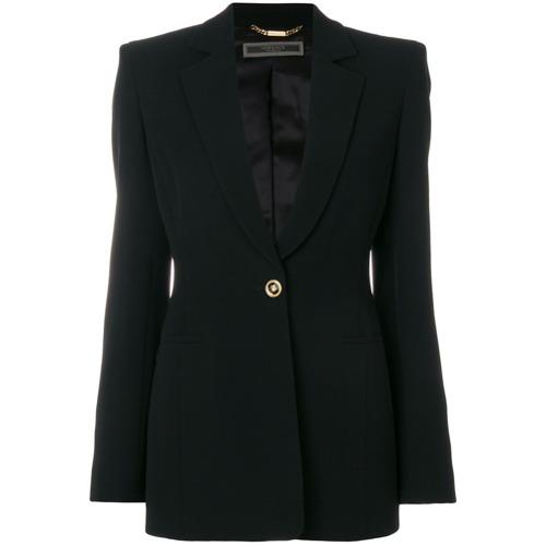 Imagen principal de producto de Versace blazer con botones - Negro - Versace