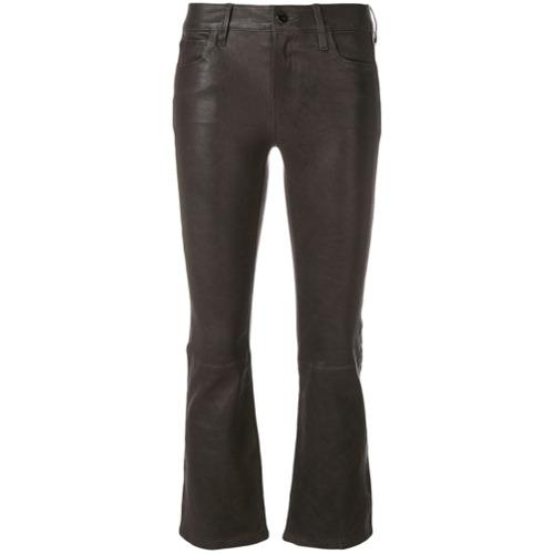 Imagen principal de producto de J Brand pantalones Kick acampanados - Gris - J Brand