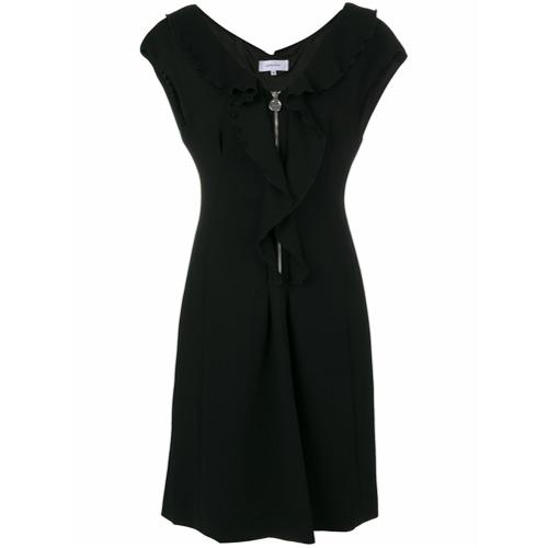 Imagen principal de producto de Carven vestido con volantes y cremallera - Negro - Carven