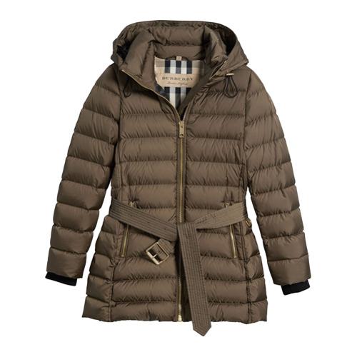 Imagen principal de producto de Burberry chaqueta con efecto acolchado - Gris - Burberry
