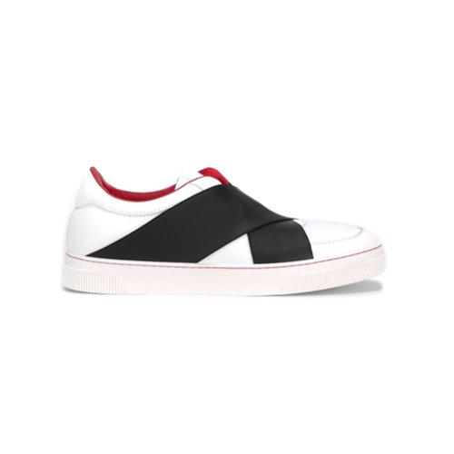 Imagen principal de producto de Proenza Schouler zapatillas con paneles cruzados - Blanco - Proenza Schouler