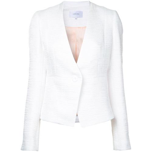 Imagen principal de producto de Carven chaqueta ceñida texturizada - Blanco - Carven