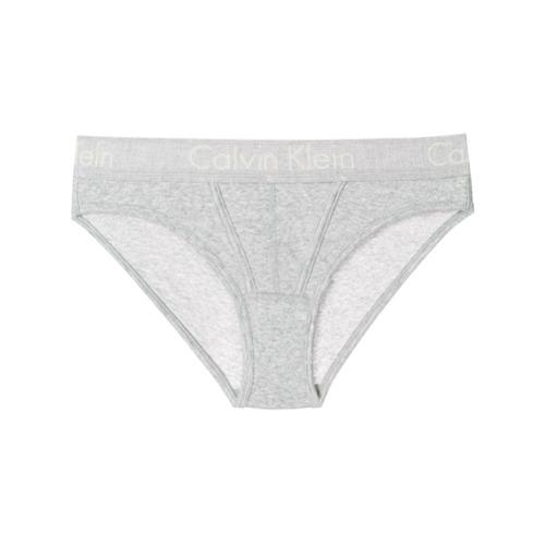 Imagen principal de producto de Calvin Klein Jeans bragas con banda del logo - Gris - Calvin Klein