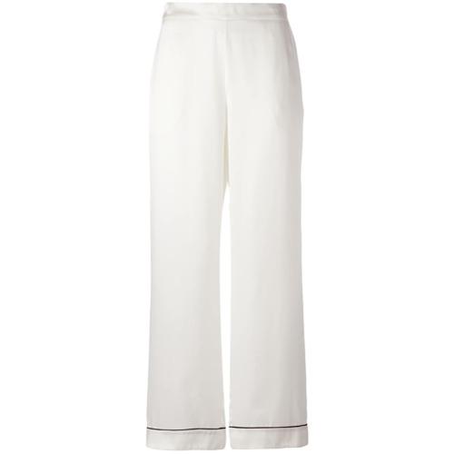 Imagen principal de producto de Asceno pantalones de pijama Edgy - Blanco - ASCENO