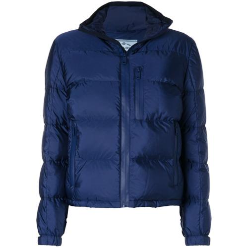 Imagen principal de producto de Prada chaqueta acolchada con cremallera - Azul - Prada