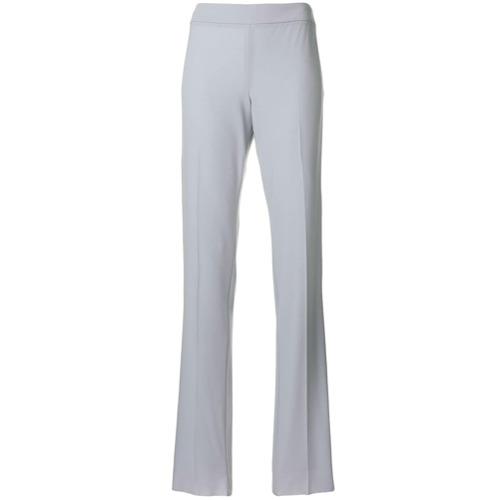 Imagen principal de producto de Emporio Armani pantalones de vestir de talle alto - Gris - Emporio Armani