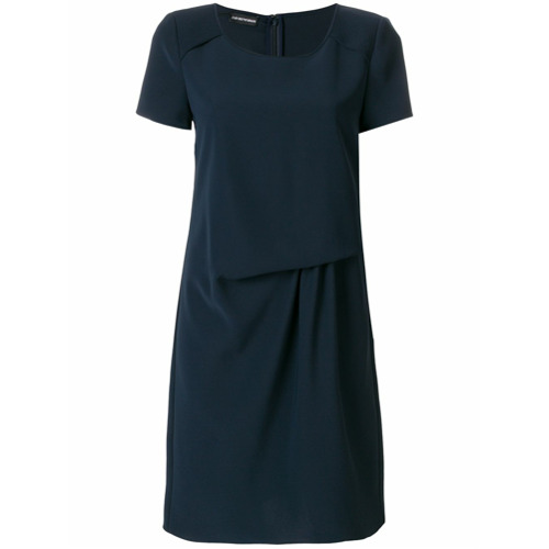 Imagen principal de producto de Emporio Armani vestido estilo camiseta - Azul - Emporio Armani