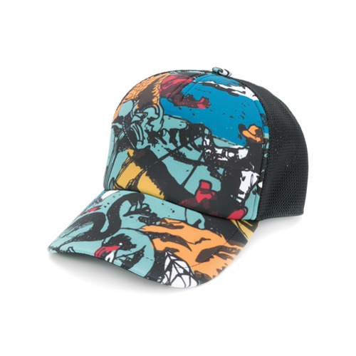 Golden Goose Deluxe Brand gorra estampada - Multicolor