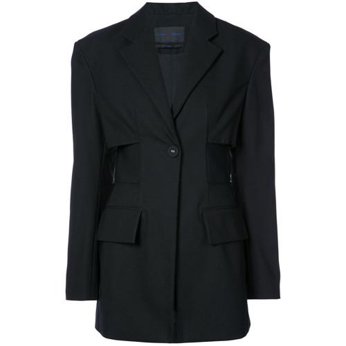 Imagen principal de producto de Proenza Schouler Single Breasted One Button Jacket - Negro - Proenza Schouler