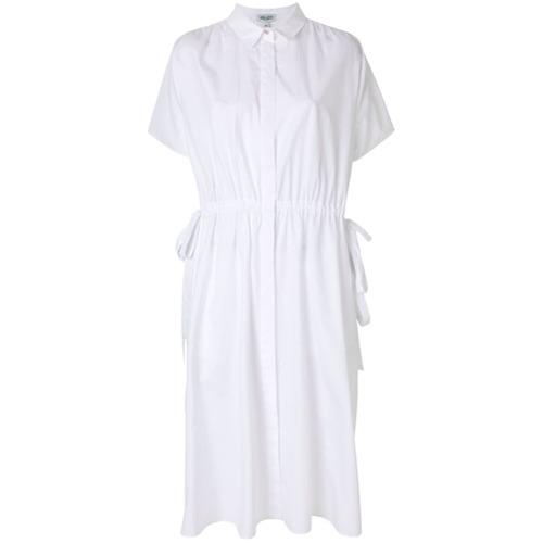 Imagen principal de producto de Kenzo vestido camisero con cordones - Blanco - Kenzo