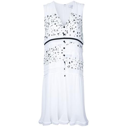 Imagen principal de producto de Carven vestido de lunares con botones - Blanco - Carven