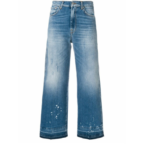 Imagen principal de producto de 7 For All Mankind vaqueros de estilo capri - Azul - 7 for all mankind