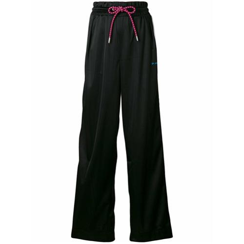 Imagen principal de producto de Diesel pantalones de chándal anchos - Negro - Diesel