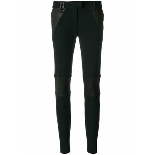 Imagen principal de producto de Plein Sud pantalones pitillo con paneles - Negro - Plein Sud