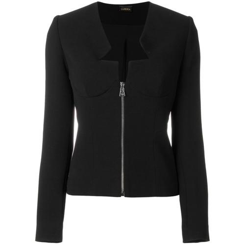 Imagen principal de producto de La Perla chaqueta ajustada tipo corset - Negro - La Perla