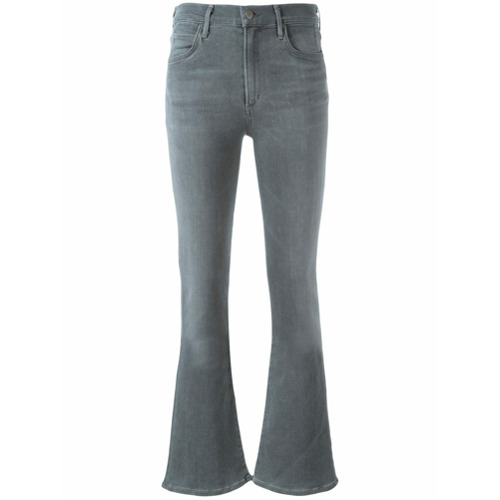 Imagen principal de producto de Citizens Of Humanity pantalones altos de campana - Gris - Citizens of Humanity