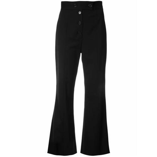 Imagen principal de producto de Proenza Schouler pantalones capri acampanados - Negro - Proenza Schouler