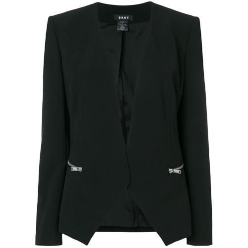 Imagen principal de producto de DKNY blazer clásico entallado - Negro - DKNY