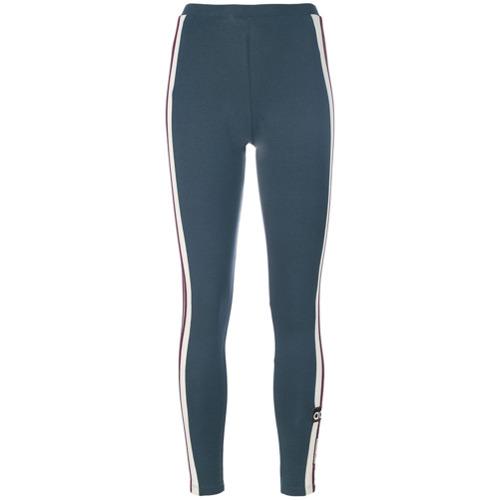 Imagen principal de producto de Adidas leggins con tres rayas - Azul - Adidas