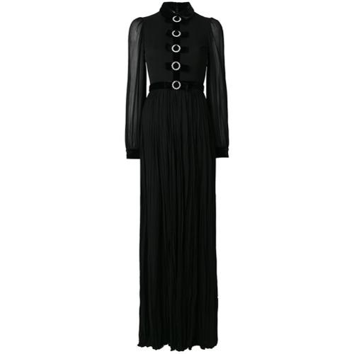 Imagen principal de producto de Gucci vestido de fiesta con lazos - Negro - Gucci