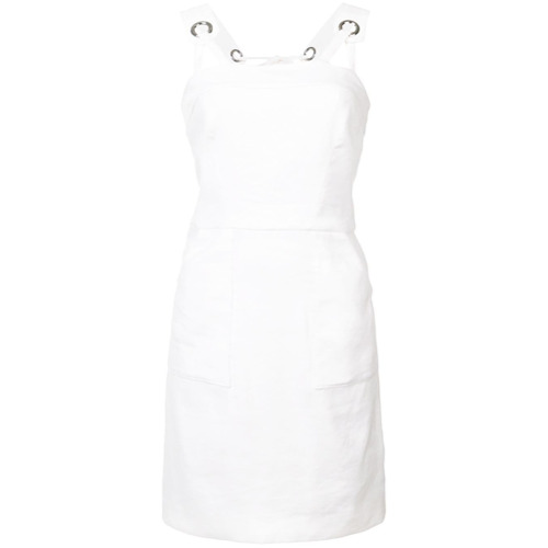Imagen principal de producto de Milly short fitted dress - Blanco - Milly