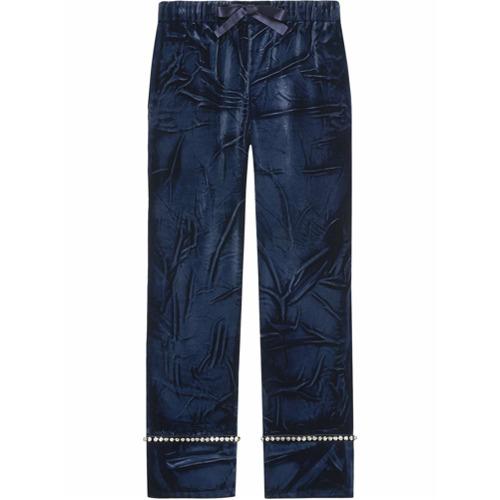 Imagen principal de producto de Gucci pantalones de pijama - Azul - Gucci