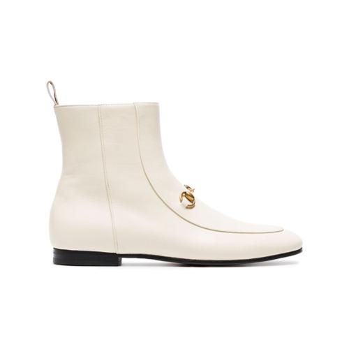 Imagen principal de producto de Gucci botines Jordaan 25 - Blanco - Gucci