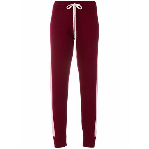 Imagen principal de producto de Juicy Couture pantalones de chándal a rayas - Rojo - Juicy Couture
