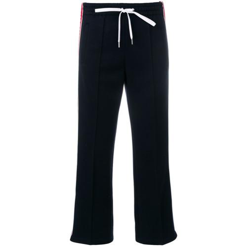 Imagen principal de producto de Miu Miu pantalones de chándal estilo capri - Azul - Miu Miu