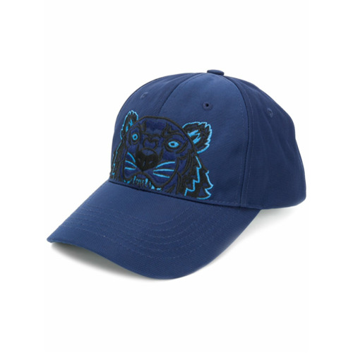 Kenzo gorra Tiger - Azul