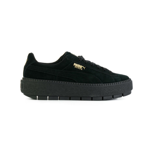 Imagen principal de producto de Puma zapatillas bajas de plataforma - Negro - Puma