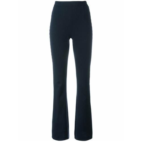 Imagen principal de producto de Pierre Balmain pantalones acampanados con franja lateral metalizado - Azul - Pierre Balmain