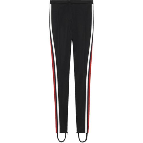 Imagen principal de producto de Gucci leggins estilo fuseau de tejido técnico - Negro - Gucci